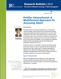 A Multifaceted Approach for Assessing Talent