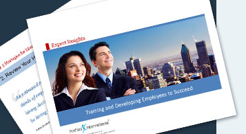 Training and Developing Employees to Succeed
