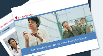 Six Crucial Behaviours for Customer-Facing Employees