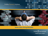 Seven sales Hiring Mistakes